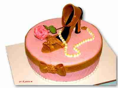 עוגה מעוצבת נעל