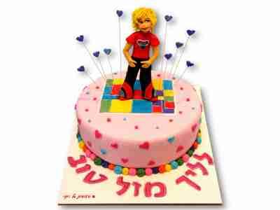 עוגת חרקדנית ליום הולדת